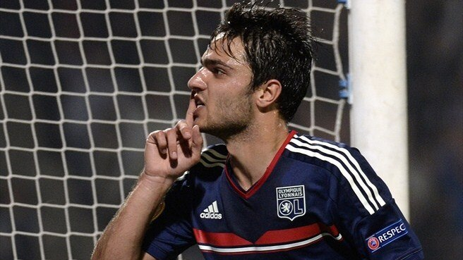 Grenier raises the roof as Lyon beat Rijeka