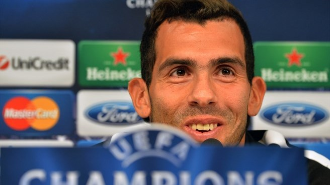 Tévez eager to end barren run against Madrid