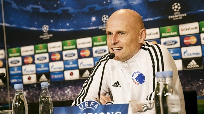 FCK's Solbakken expects close Galatasaray match