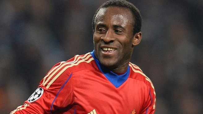 CSKA's Doumbia and Slutski honoured in Russia