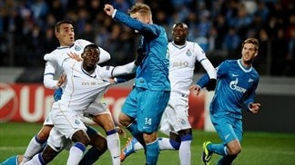 Zenit 1-1 Porto: the story in photos