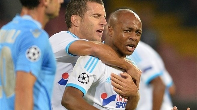 Marseille must make do without André Ayew