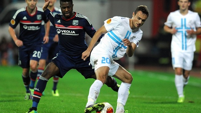 Lyon held by Rijeka in Croatia