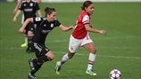 Alex Scott (Arsenal LFC) & Joanne Love (Glasgow City AFC)