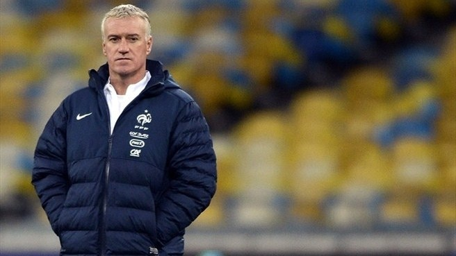 France's Deschamps excited by Ukraine play-off