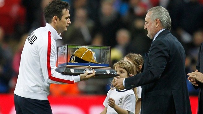 Lampard landmark marked at Wembley