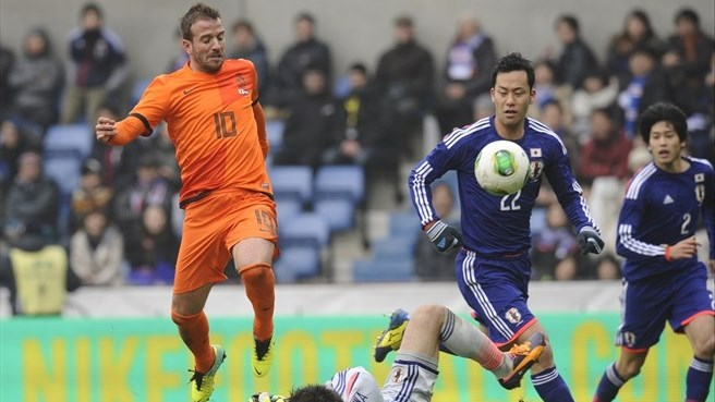 Dutch pegged back by battling Japan