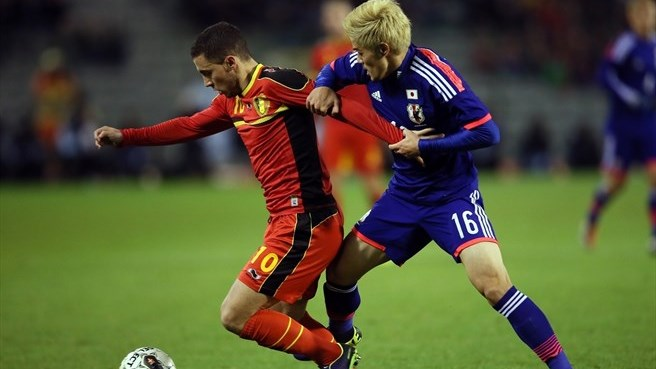 Belgium come up short against Japan