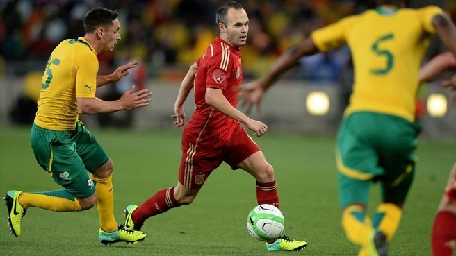 Parker goal sinks Spain in South Africa