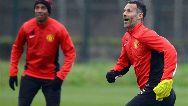 Ryan Giggs & Ashley Young (Manchester United FC)