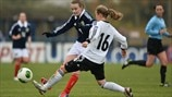 Michaela Specht (Germany) & Kirsty Howat (Scotland)
