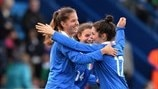 Sbardella joy as Italy overcome hosts
