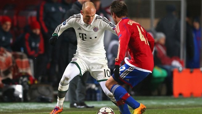 Robben proud of Bayern's history boys