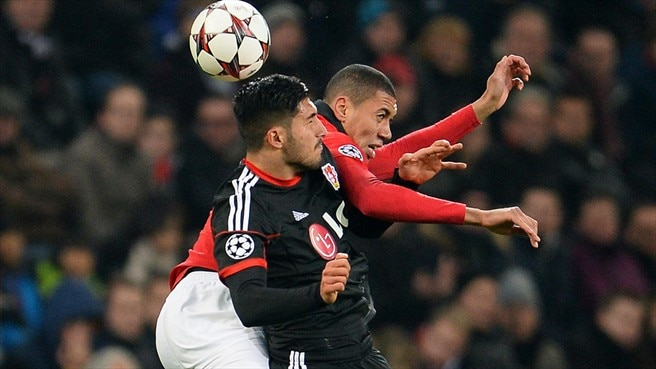 Chris Smalling (Manchester United FC) & Emre Can (Bayer 04 Leverkusen)