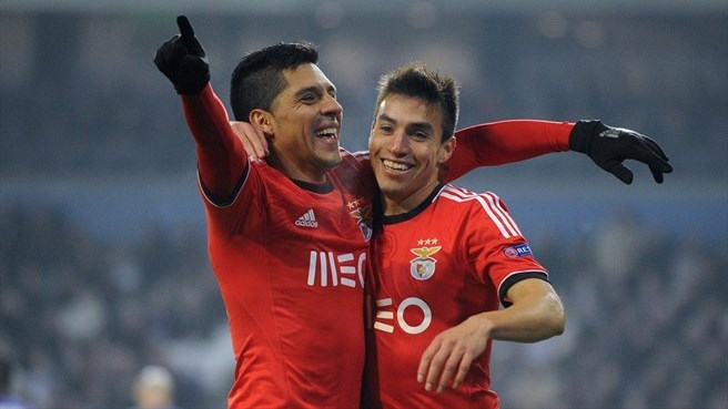 Jesus relieved at Benfica resolve
