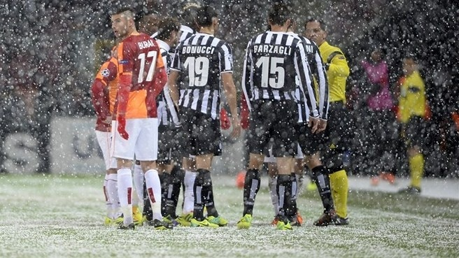 Galatasaray-Juventus rescheduled for Wednesday