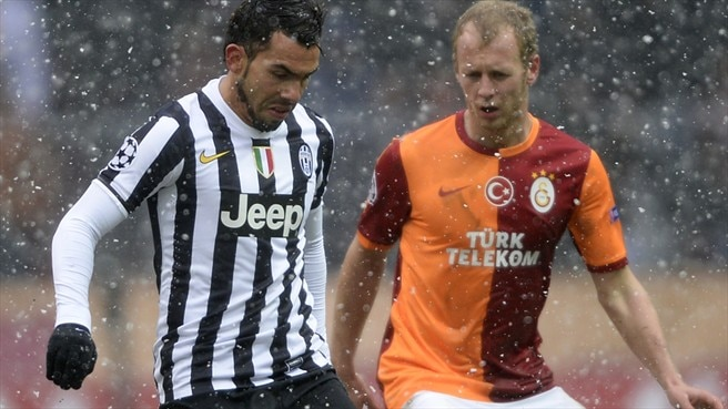 Juventus take on Trabzonspor