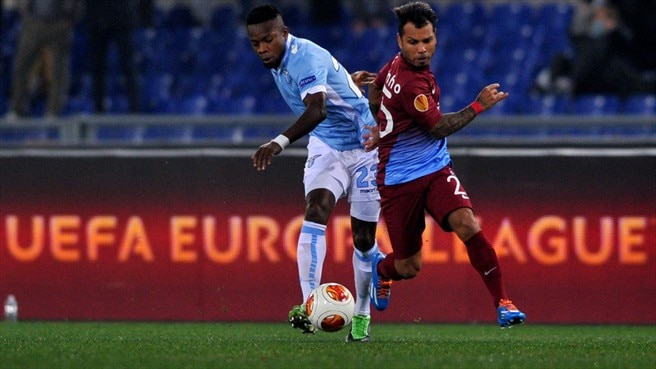 Trabzonspor top section with Lazio draw