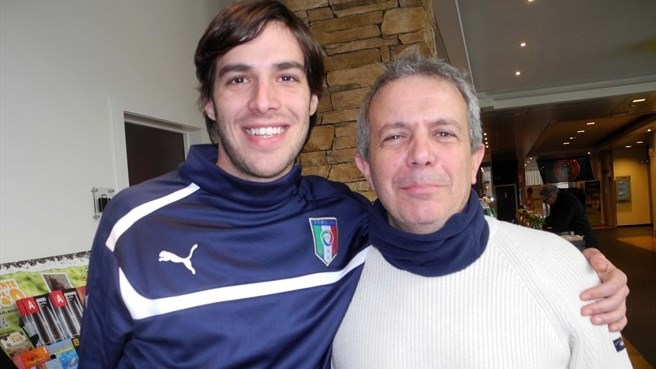Romano's Italy feats make father proud