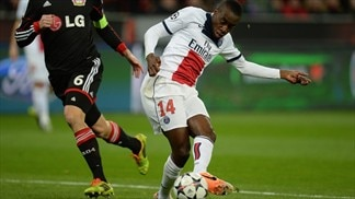 Leverkusen 0-4 Paris: the story in photos