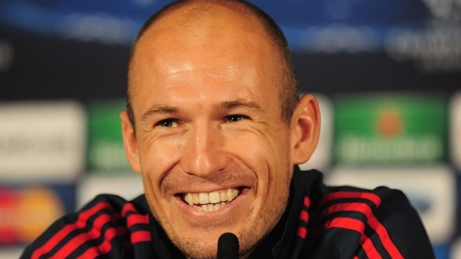Wary Robben relishing Bayern's London return