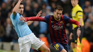 Manchester City 0-2 Barcelona: the story in photos