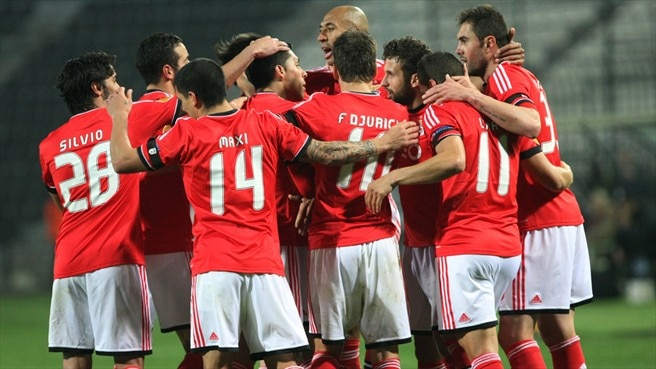 Lima puts Benfica in control against PAOK