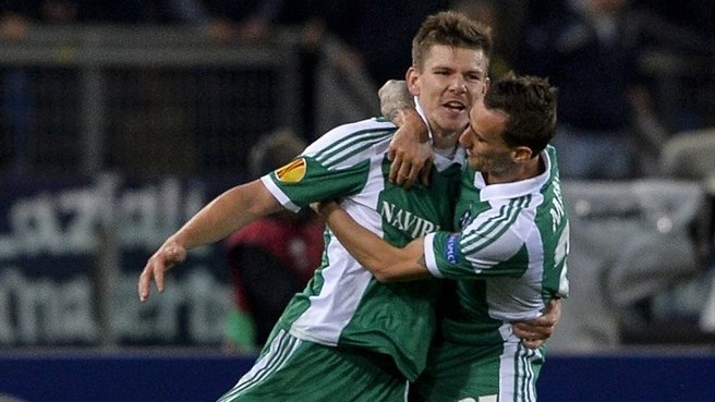Ludogorets' Bezjak lives dream with last 16 in sight