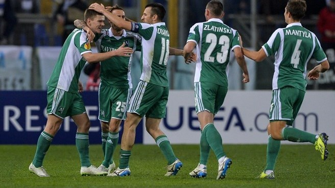 Ludogorets hold their nerve to upset Lazio