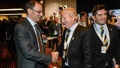 Martin O'Neill (Republic of Ireland) & Gordon Strachan (Scotland)