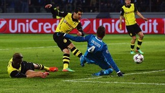 Zenit 2-4 Dortmund: the story in photos