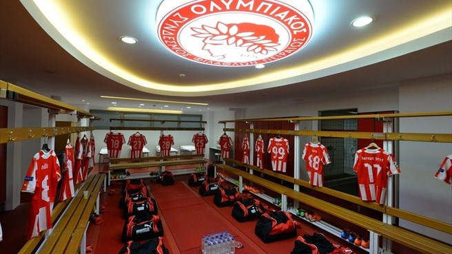 Olympiacos FC dressing room