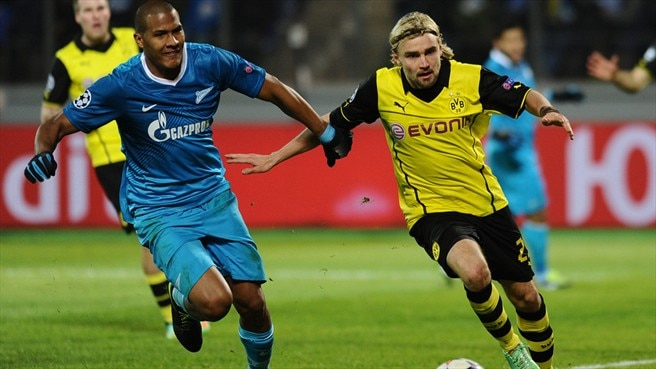 Match facts: Dortmund v Zenit