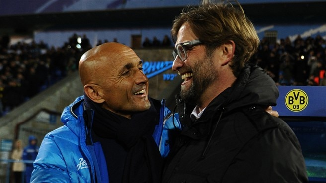 Delight for Klopp as Spalletti rues Zenit errors