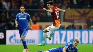 Galatasaray 1-1 Chelsea: the story in photos
