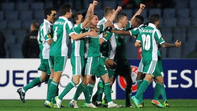 PFC Ludogorets Razgrad players celebrate