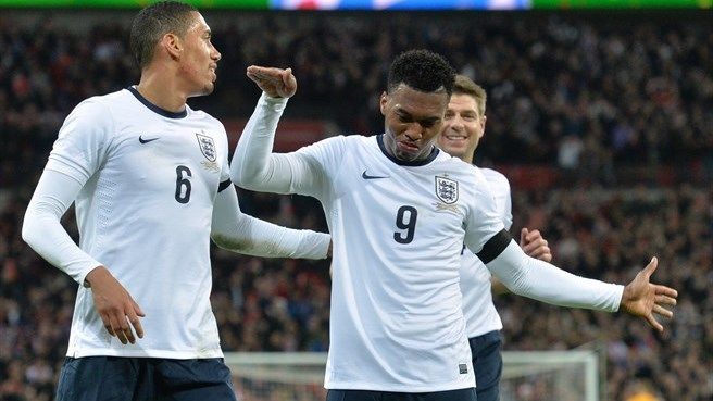 Sturridge heads England past Denmark