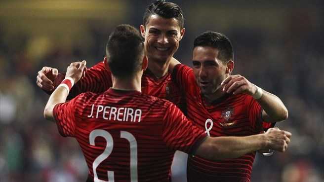 Ronaldo reaches new milestone in Portugal win