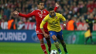 Bayern 1-1 Arsenal: the story in photos