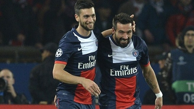 Ezequiel Lavezzi (Paris Saint-Germain)