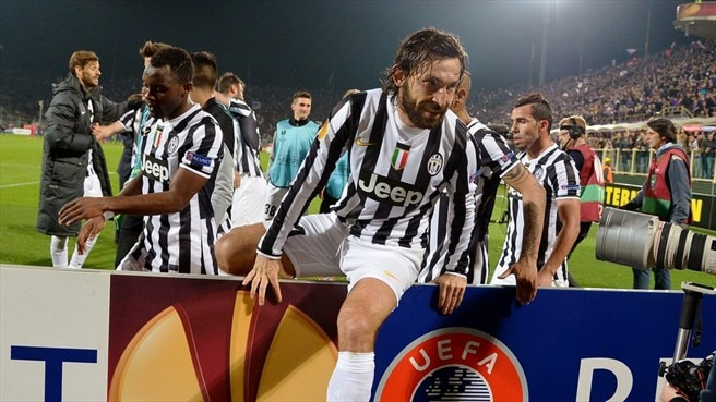 'Incredible' Pirlo salutes Juve's patient game