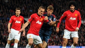 Manchester United 1-1 Bayern: the story in photos