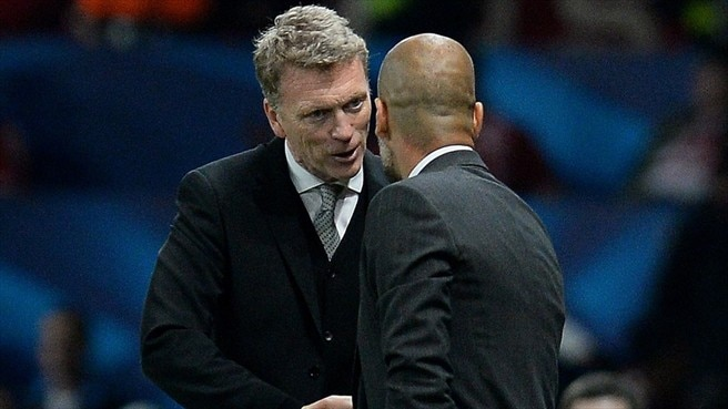 Moyes and Guardiola satisfied with draw