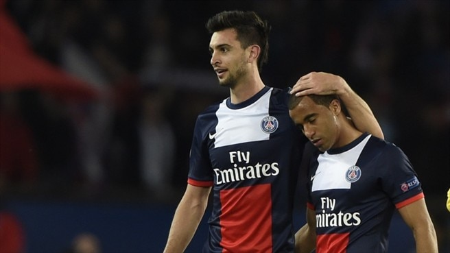 Javier Pastore & Lucas  (Paris Saint-Germain)