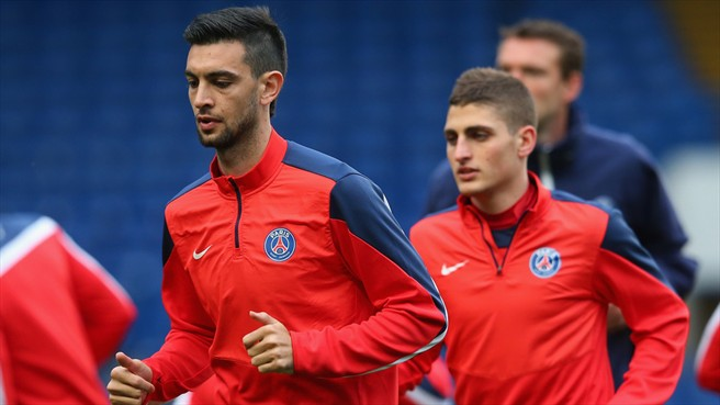 Javier Pastore (Paris Saint-Germain)