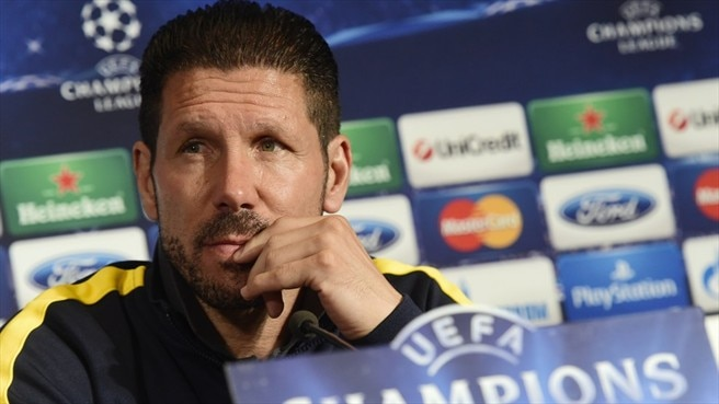 Simeone stirs Atlético support for Barcelona test