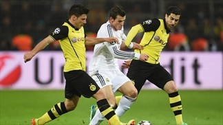 Dortmund 2-0 Real Madrid: the story in photos