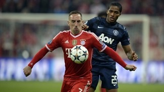 Bayern 3-1 Manchester United: the story in photos