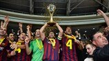 2014 final highlights: FC Dynamo v Barcelona