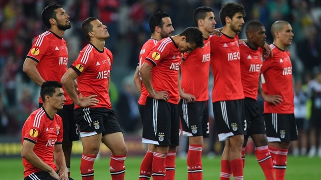SL Benfica dejection